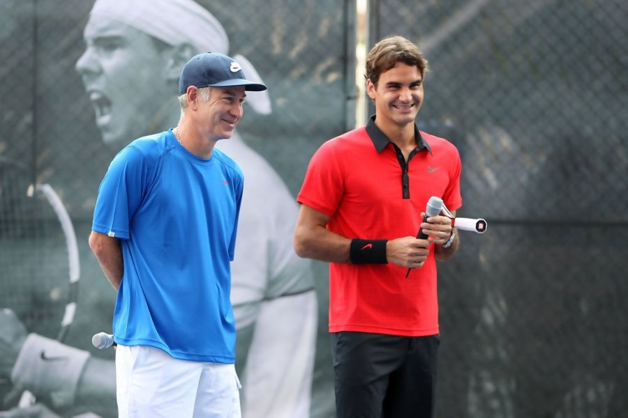 Federer-McEnroe