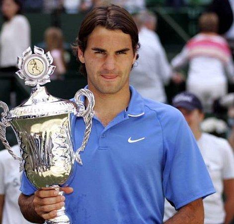 Copyright: imago/Hoch Zwei Roger Federer wins Gerry Weber Open 2006