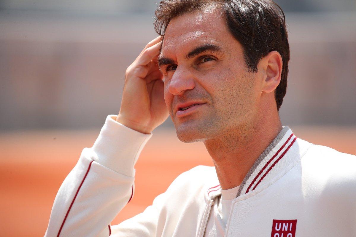 Le prime immagini del ritorno di Federer al Roland Garros